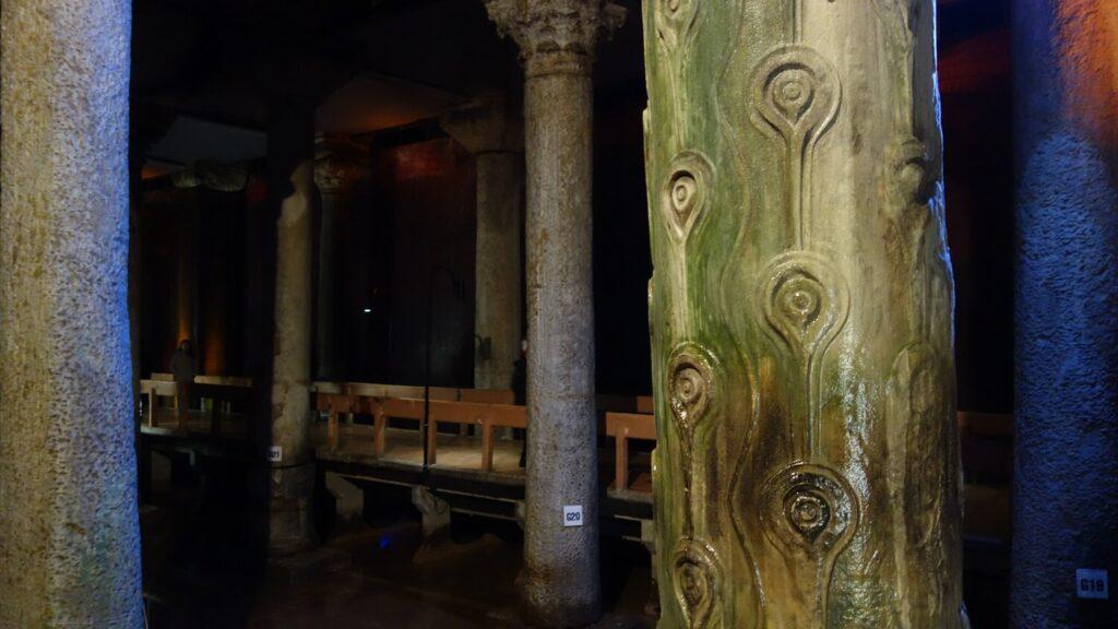 Плачущая колонна (Базилика Цистерна)
