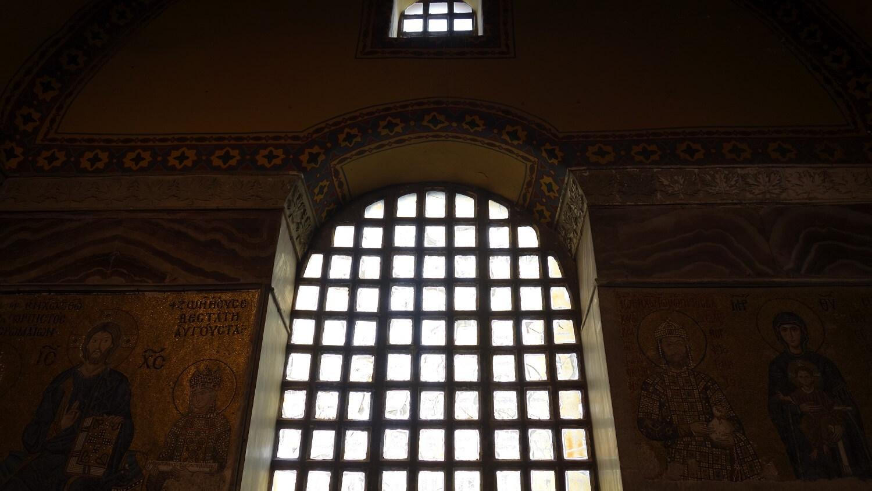 Фрески и мозаики собора Айя-Софии