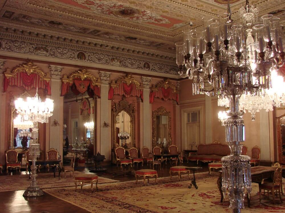 Дворец Долмабахче фото внутри