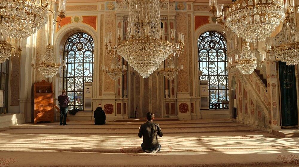 Мечеть Ортакёй внутри