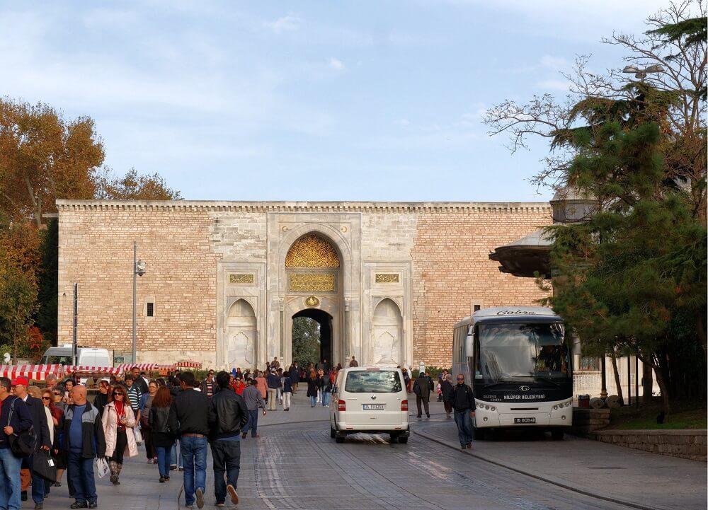 Императорские ворота в Топкапы