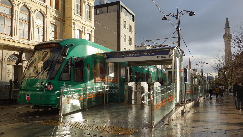 Городской транспорт в Стамбуле