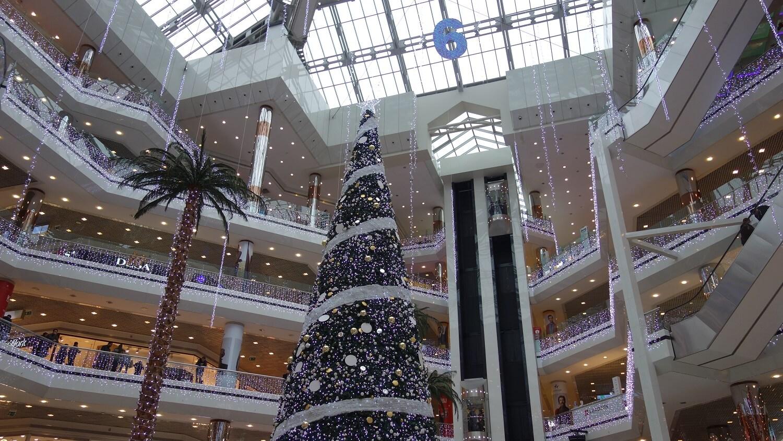 Новый год в Торговом центре Istanbul Cevahir
