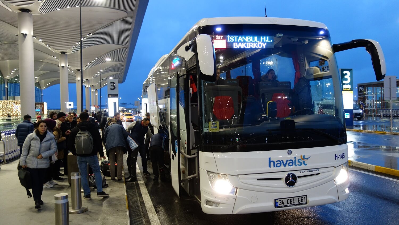 Остановка Новый аэропорт Стамбула