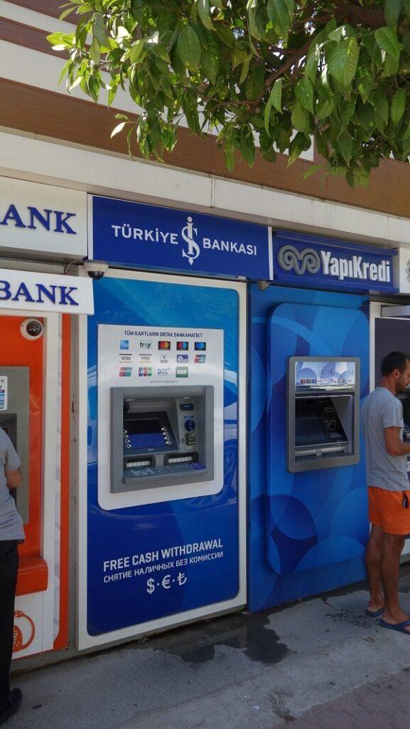ATM в Турции