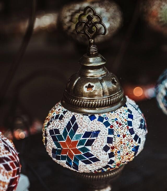 Восточные лампы в Стамбуле