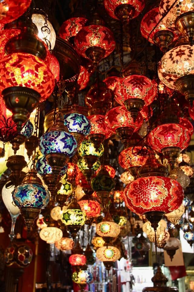 Лампы в Стамбуле