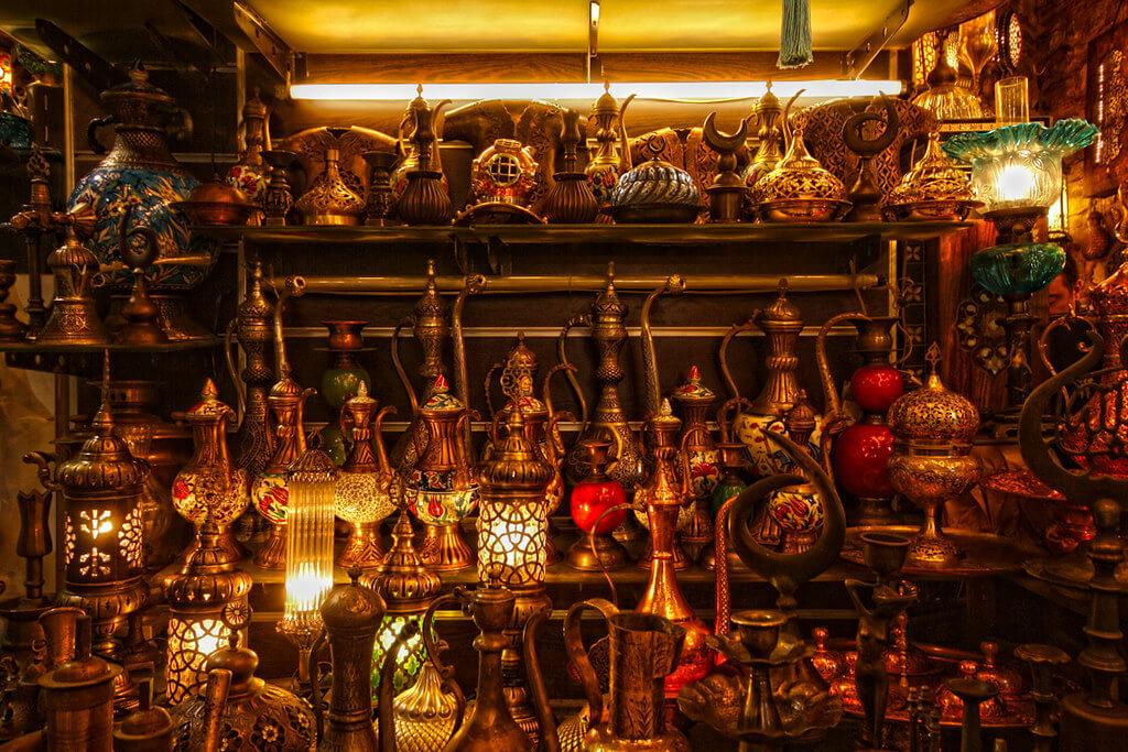 Магазин на Гранд Базаре в Стамбуле