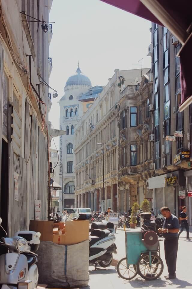 район Сиркеджи в Стамбуле
