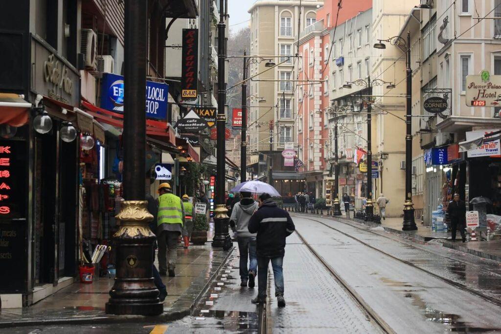 Сиркеджи в Стамбуле